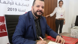 Tunisia's Mounir Baatour submits his candidacy for the upcoming presidential elections