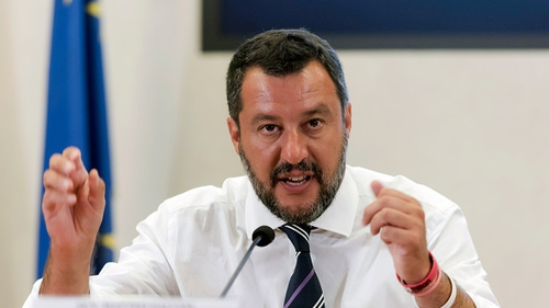 Opinion polls indicate Salvini's League party would win the election