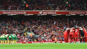 Last season Liverpool won 17 of their 19 league matches at Anfield