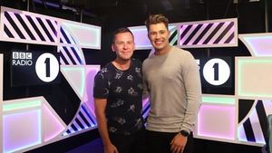 Curtis Pritchard revealed his new job on BBC Radio 1's Scott Mills Show