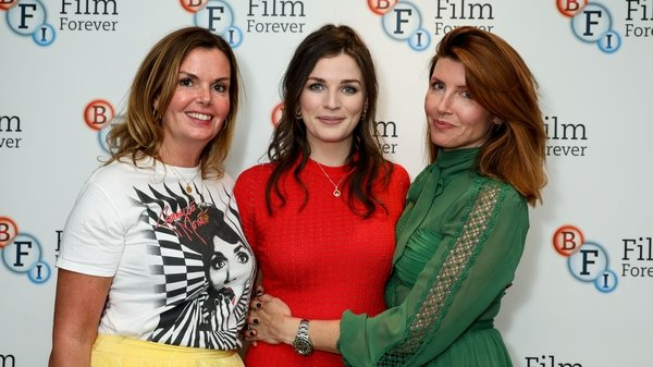 Clelia Mountford, Aisling Bea and Sharon Hogan