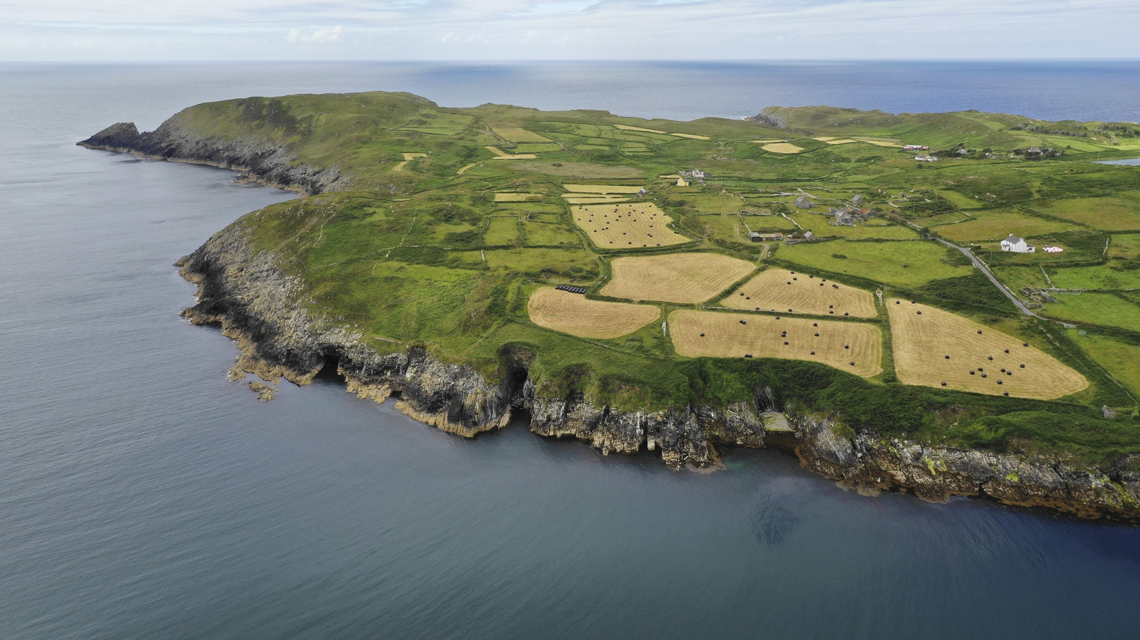 Image - A bird's eye view of Cape Clear, Co Cork (Pic: Leon Giblin Photography)