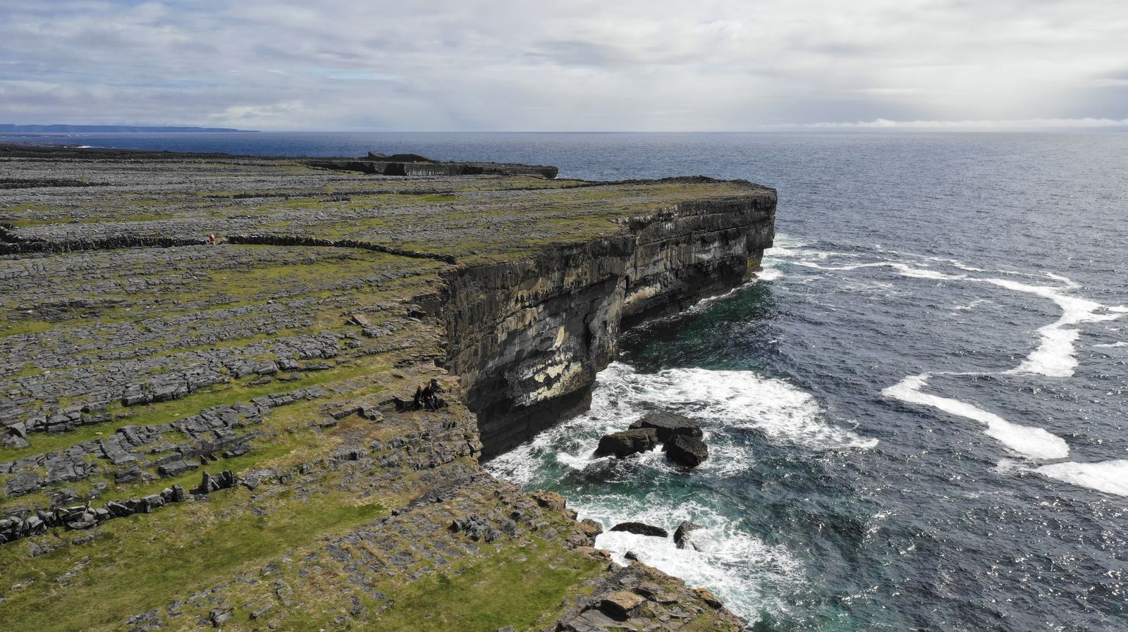 Image - At the edge of Inishmore (Pic: Leon Giblin Photography)