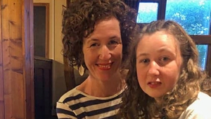 Nora, seen with her mother Meabh, disappeared on Sunday in Malaysia