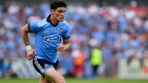 Connolly is in the match-day panel for the All-Ireland semi-final