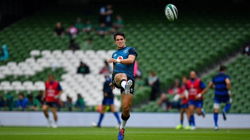 Joey Carbery is ready to fill the breach if Johnny Sexton doesn't start against Canada