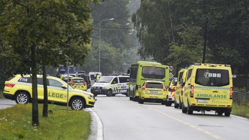 The shooting occurred at the al-Noor Islamic centre in the town of Baerum, an Oslo suburb