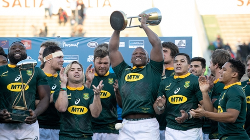 South Africa claim first silverware for a decade after demolishing Argentina