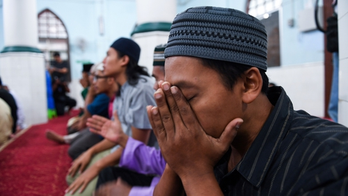 The Friday prayer at a mosque near the search site was dedicated for the safety and recovery of Nóra Quoirin