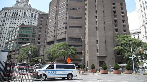 Manhattan Correctional Center where Jeffrey Epstein was found dead on 10 August