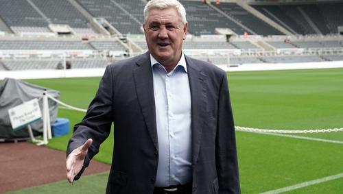 Newcastle boss Steve Bruce