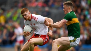 Cathal McShane in action for Tyrone