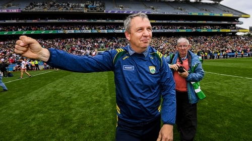 That winning feeling: Peter Keane