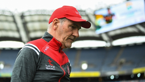 Mickey Harte's first major task with Louth will be to gain promotion from Division 4