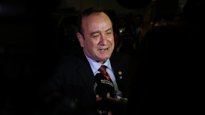 Alejandro Giammattei had polled almost 58.5% with a lead of 550,000 votes