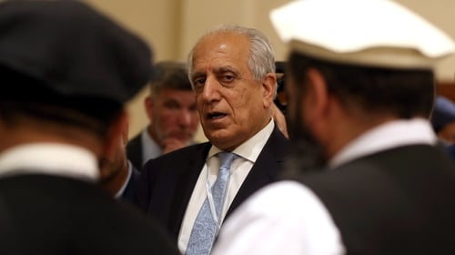 Talks negotiated by US peace envoy Zalmay Khalilzadon have ended without agreement