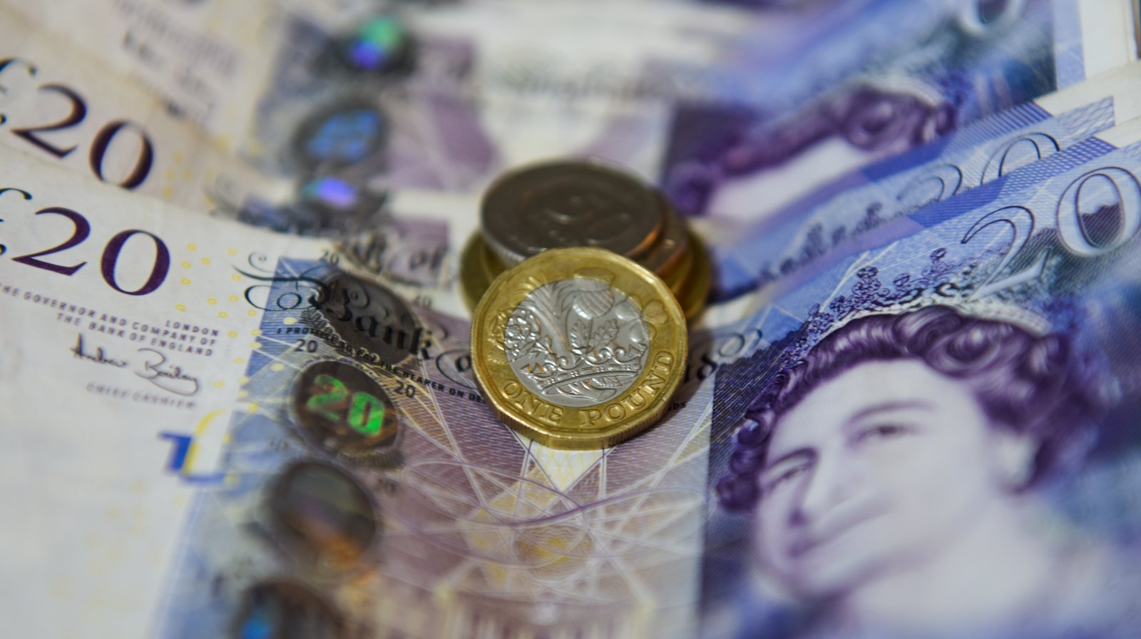 Sterling drops more than 1%