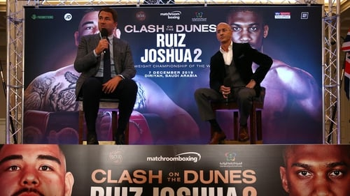 Promoter Eddie Hearn Defends Joshua-Ruiz Rematch Location