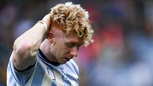 Cian Lynch cuts a dejected figure following the All-Ireland hurling semi-final defeat to Kilkenny