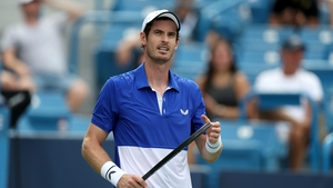 Murray lost out in the first round of the Western and Southern Open