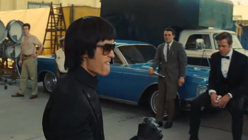 Bruce Lee is played by Mike Moh in Once Upon a Time In Hollywood