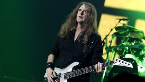 "David Ellefson - ""I'll tell you one thing: it teaches you, when you travel, you can be an observer, but you really need to kind of watch your Ps and Qs and show up, play your songs, 'Thank you very much', and then be on your way"""