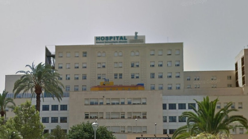 The boy was flown to hospital in Alicante by helicopter (Pic: Google Maps)