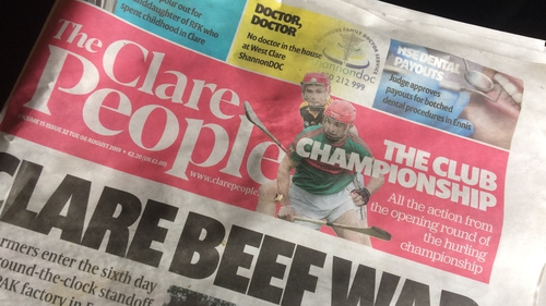 The Clare People was published weekly since 2005