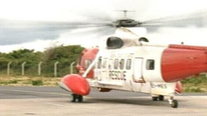 Rescue 117 helicopter attended the scene