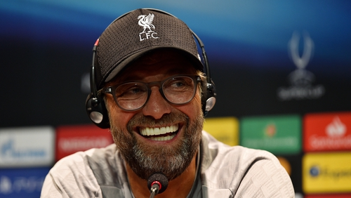 Klopp is hoping to see more female referees appointed for men's fixtures.