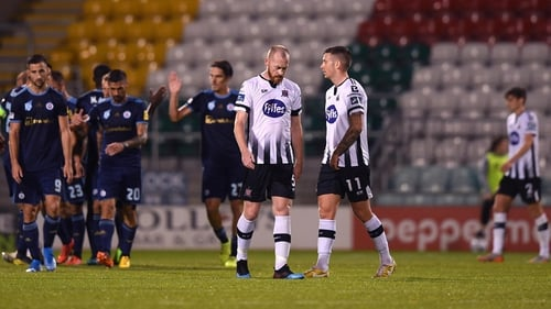 Dundalk threatened a late comeback but it was not to be