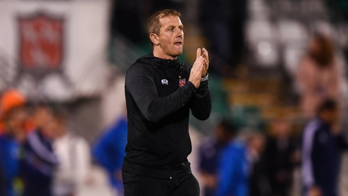 Dundalk boss Vinny Perth felt his team needed an extra bit of luck on the night.
