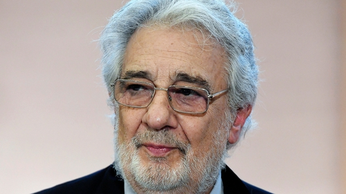 The legendary opera singer has been accused of harassment by 20 women which he rejects