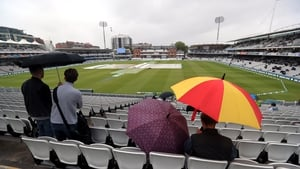 Play looks to be unlikely at Lord's today