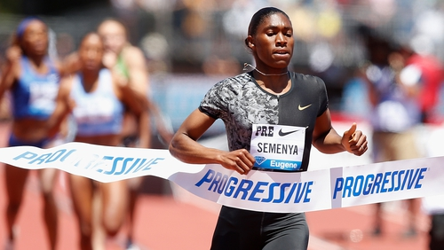 """Caster Semenya: """"I think it comes more into the international stage when you see your own rivals come with this... what can I call it... these rude responses in terms of me competing against them."""""""