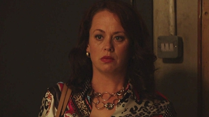 Sharon is in for a shock on Fair City