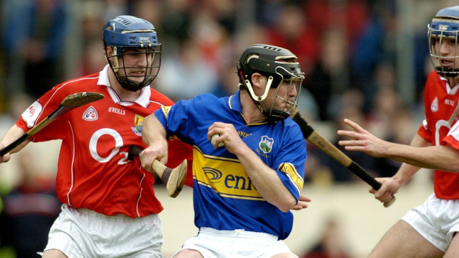 Image - Byrne in Tipp colours against Cork