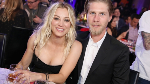 Kaley Cuoco Reveals She Still Doesn't Live With Husband Karl Cook