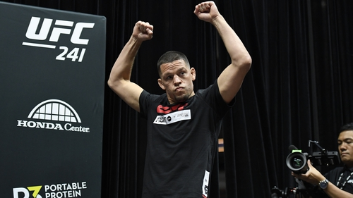 All eyes are on Nate Diaz this weekend