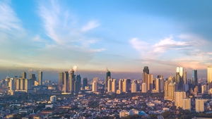 Jakarta is one of the world's most densely populated cities