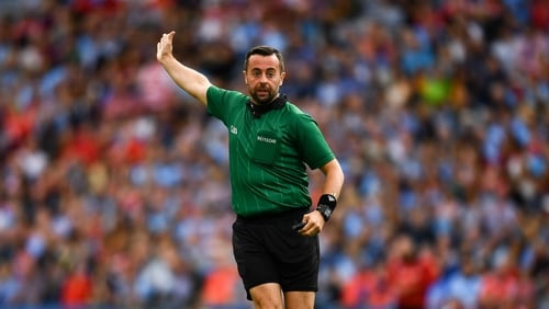 David Gough will take charge of the All-Ireland football final