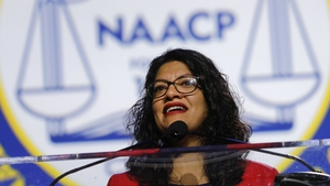 US lawmaker Rashida Tlaib is of Palestinian descent and has family in the West Bank