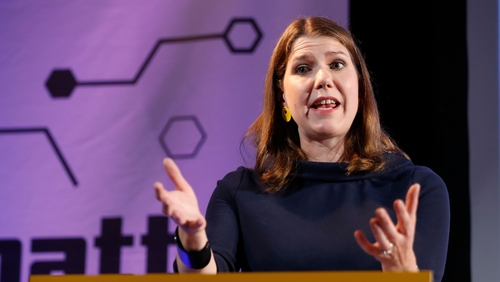 Jo Swinson has proposed a caretaker government led by either Tory MP Ken Clarke or Labour MP Harriet Harman
