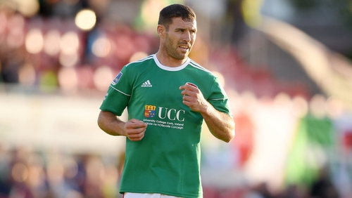 Mark O'Sullivan was on target for Cork