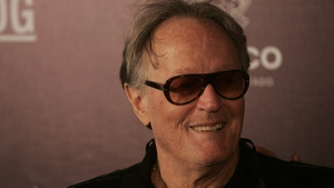 Peter Fonda pictured at the Guadalajara International Film Festival in March