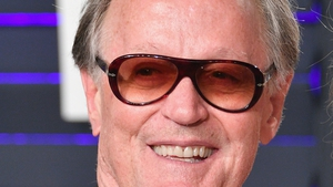 Peter Fonda pictured at the 2019 Vanity Fair Oscar Party last February