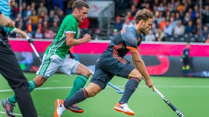 Ireland lost their opening game in the EuroHockey Championships in Antwerp