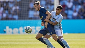 Gareth Bale started in the 3-1 victory over Celta Vigo