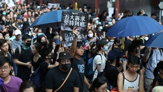 Some 1.7 million take part in 11th week of Hong Kong protests