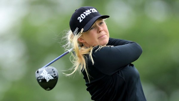 Meadow finished on 10-under par, one shot clear of Charley Hull